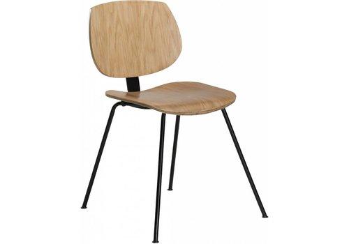 DAN-FORM Prime stoel eiken / zwart