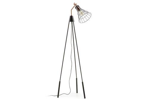 LaForma LaForma CASSIA Vloerlamp Metaal Koper