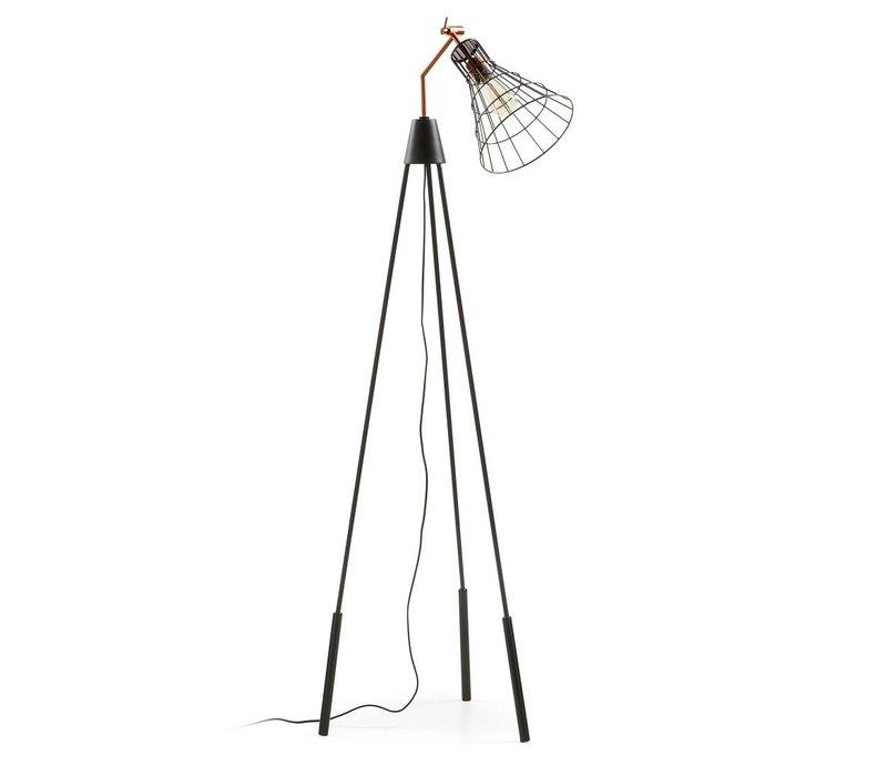LaForma CASSIA Vloerlamp Metaal Koper