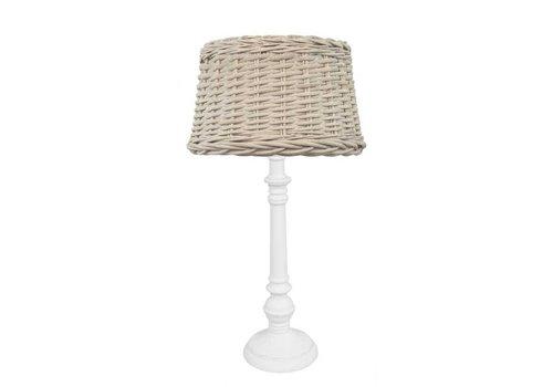 LABEL51 Rieten Lampenkap voor tafellamp - 25 cm