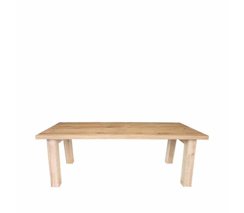 Eettafel Daan 220x100x76 cm