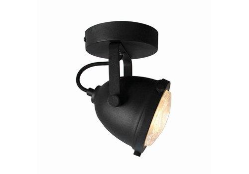 LABEL51 LED Spot Moto 1-Lichts Zwart Metaal