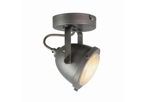 LABEL51 LED Spot Moto 1-Lichts Burned Steel