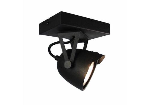 LABEL51 LED Spot Cap 1-lichts Zwart Metaal