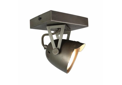 LABEL51 LED Spot Cap 1-lichts Burned Steel