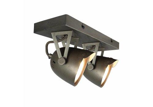 LABEL51 LED Spot Cap 2-lichts Burned Steel