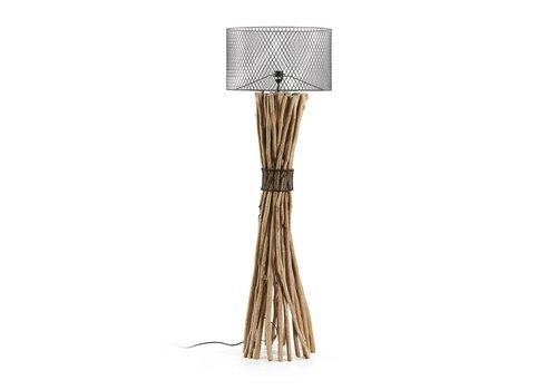 LaForma HYMAN Vloerlamp Tropisch Metaal