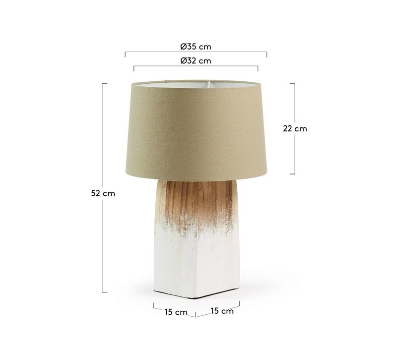 SCALM Tafellamp Wit