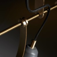 ZONE Hanglamp Grijs