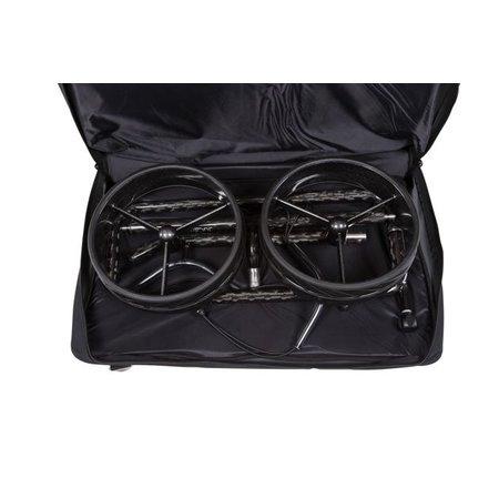JuCad JuCad Carbon 3-Rad (Schwarz)