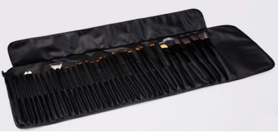 36 delige White Professional Makup brush Set
