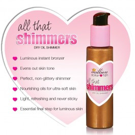 Million Dollar Tan - All That Shimmers - Dry Oil Shimmer