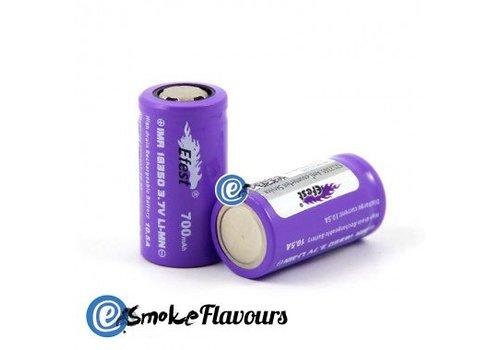 eFest 18350 IMR Purple 700mAh 10.5A Flattop