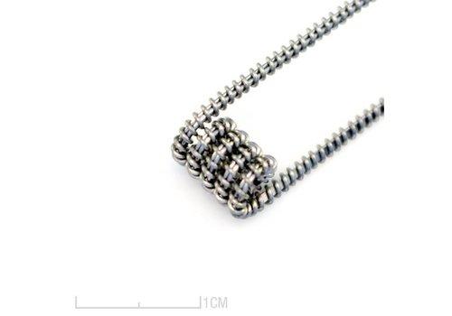 Herbaltides 6x Caterpillar Clapton Coils Coils: 0.45 Ω