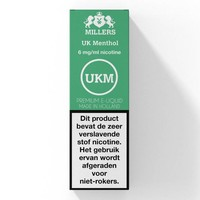 Millers UK Menthol E-Liquid
