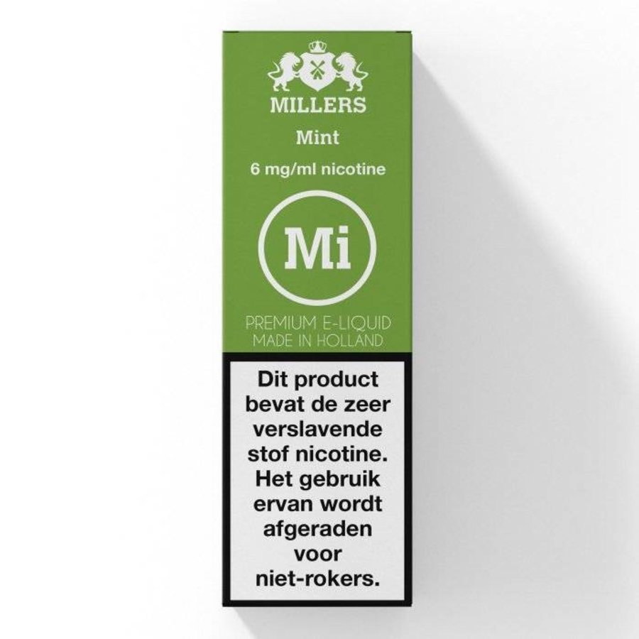 Millers Mint E-Liquid