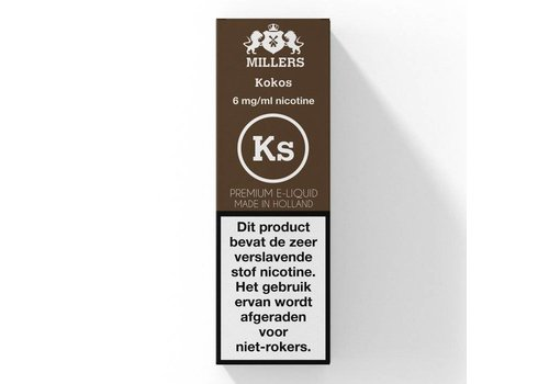 Millers Kokos E-Liquid