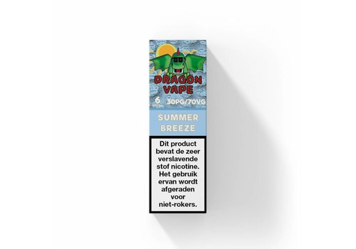 Dragon Vape Summer Breeze E-Liquid