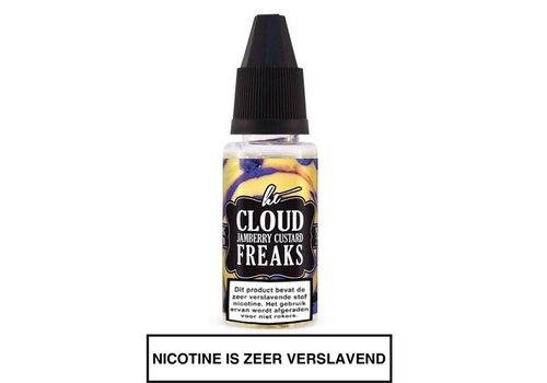 Herbaltides Jamberry Custard Cloud E-Liquid