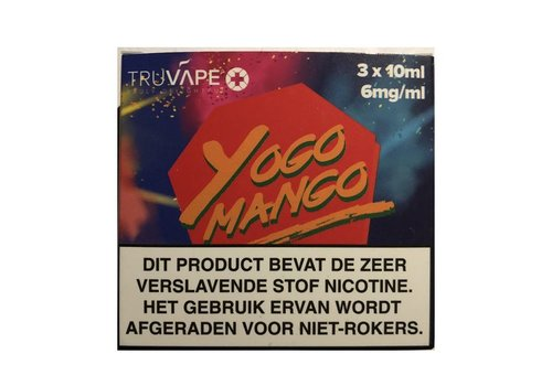 TruVape+ Yogo Mango E-Liquid(3x10ml)