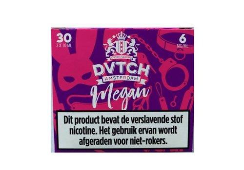 DVTCH Amsterdam E-liquid Megan (3x10ml)