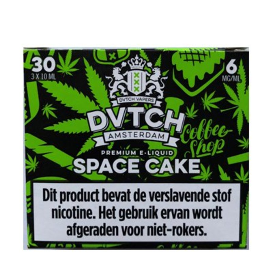 DVTCH Amsterdam E-liquid Space Cake (3x10ml)