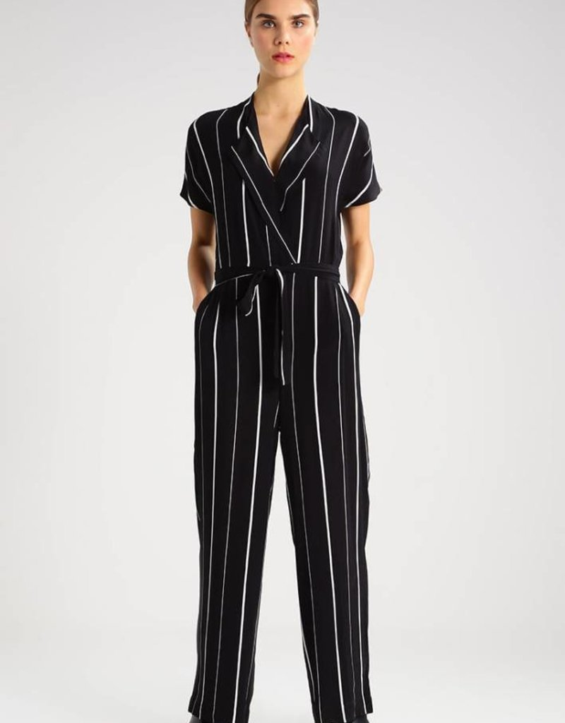 Selected Femme Striped Jumpsuit