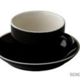 Palmer Imperial Quality Kop en schotel cappuccino blauw Palmer Colors 18cl set 6 stuks