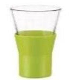 Bormioli Rocco Cappuccino glas kleur groen Bormiolli Rocco Ypsilon 22cl doos 6 stuks