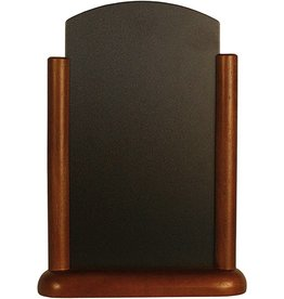 Tafel Krijtbord Securit 20x28cm donker bruin 525279