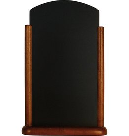 Tafel Krijtbord Securit 26x40cm donker bruin 525212