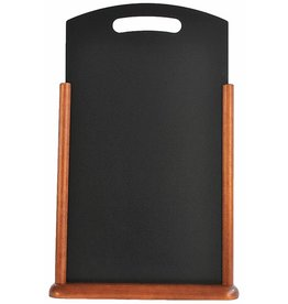 Tafel Krijtbord Securit 35x53cm donker bruin 525213