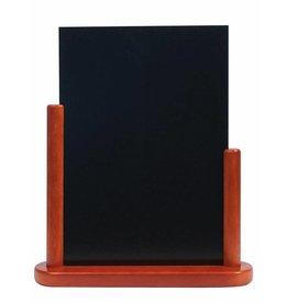 Tafel Krijtbord Securit Elegant Mahonie A4 525209