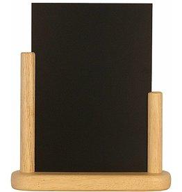 Tafel Krijtbord Securit blank hout A5 525211