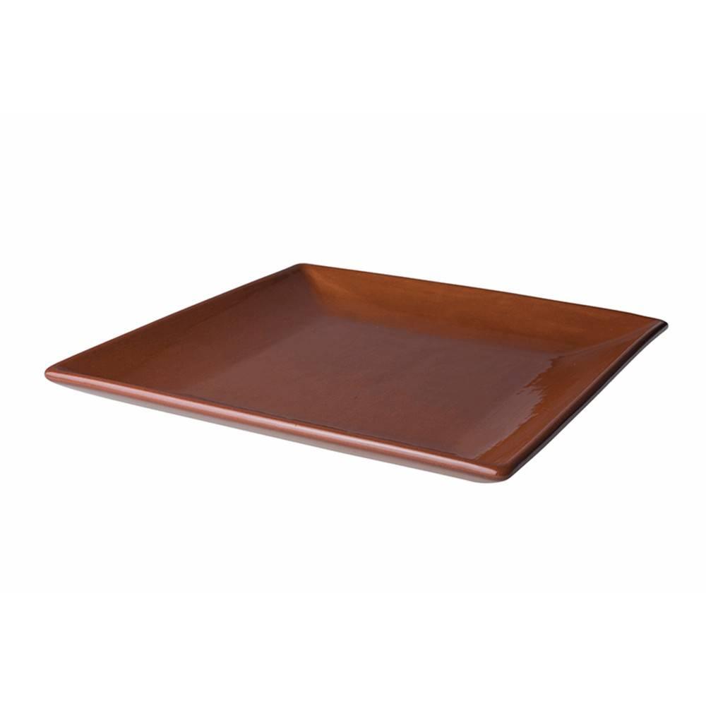 Aardewerk servies bord vierkant 29cm Classico 506936