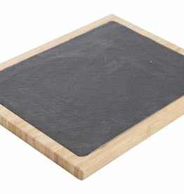 Cosy & Trendy Bamboe - leisteen plank 25x32cm Cosy & Trendy 4722413