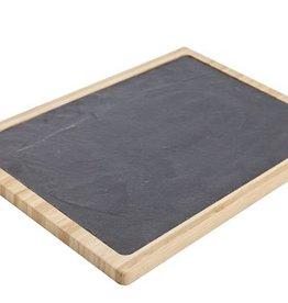 Cosy & Trendy Bamboe - leisteen plank 30x40cm Cosy & Trendy 5866217