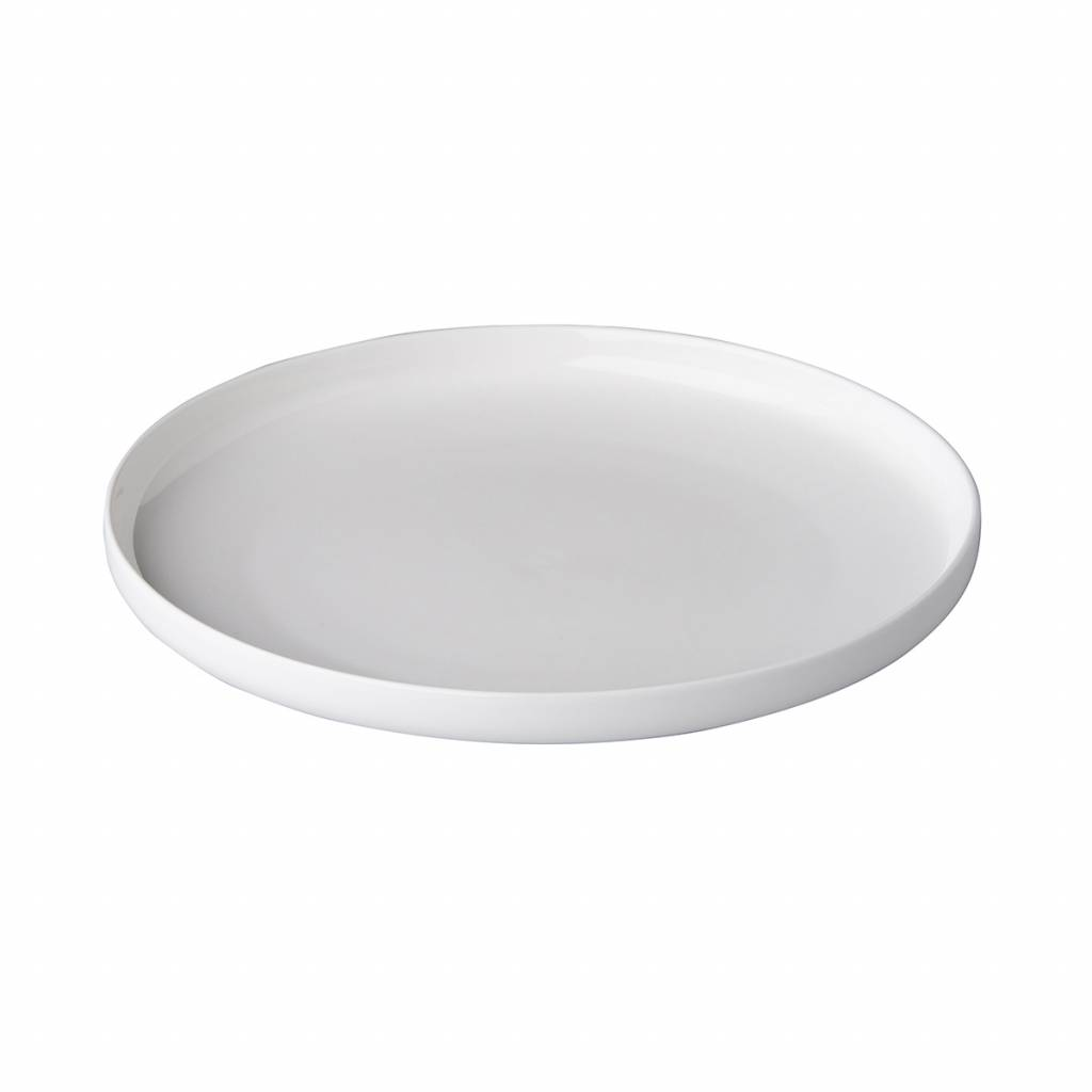 Bord opstaande rand 25,5cm Q Fine China QU89120
