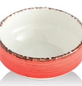 Güral Porselen Kom porselein rood 12cm Gural Ent E617335