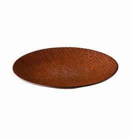 Q Authenic Porselein Bord 21cm Q Authentic Croco 616763