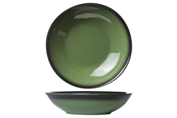 Bord diep Cosy & Trendy professional Vigo Emerald Green 22cm 6530022