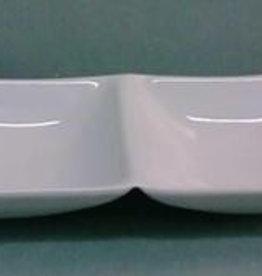 Güral Porselen 2-vaks schaal Gural Hong Kong 609719