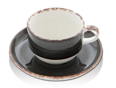 Güral Porselen Bord 21cm antraciet Gural Ent 617338