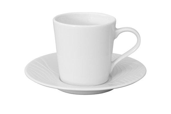 Spal Porselanas Koffie kop en schotel 24cl reliëf Waves Spal Porselanas 9222177