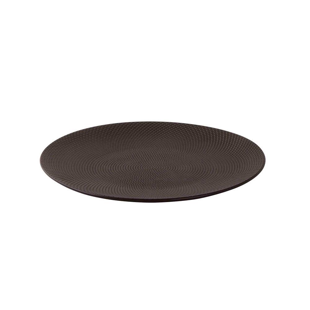 Palmer Imperial Quality Bord 28cm zwart Palmer Dots 530106