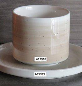 Schotel Spring beige/blauw 619919
