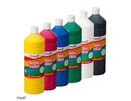 Creall BASICCOLOR 6x 1000ml assort.
