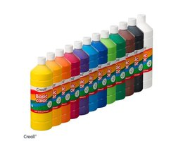 Creall BASICCOLOR 12x 1000ml assort.