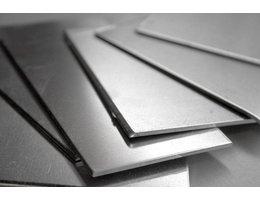 Kaartenhouder aluminium 120x120x0,8