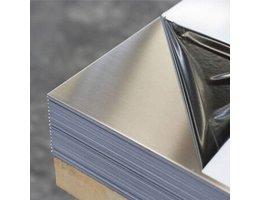 Alu99,5 aluminium plaat al99,5 2000 x 1000 x 0,5mm